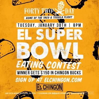 El Super Bowl Eating Contest