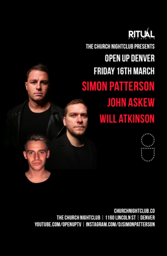 Open Up Denver: Simon Patterson, John Askew, Will Atkinson