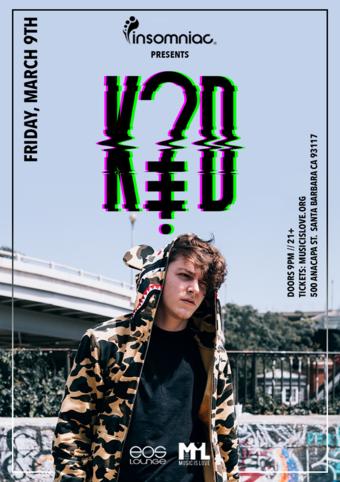 Insomniac Presents: K?D at EOS Lounge 3.9.18