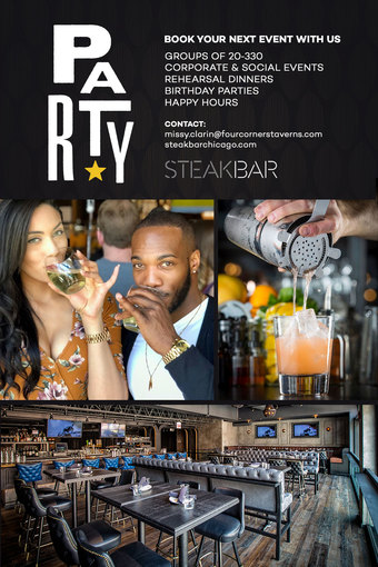 Book Your Event at SteakBar