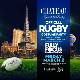 Official Rugby Costume Party with International DJ Fully Focus
