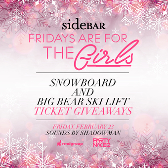 Fridays are for the Girls: Big Bear Giveaways