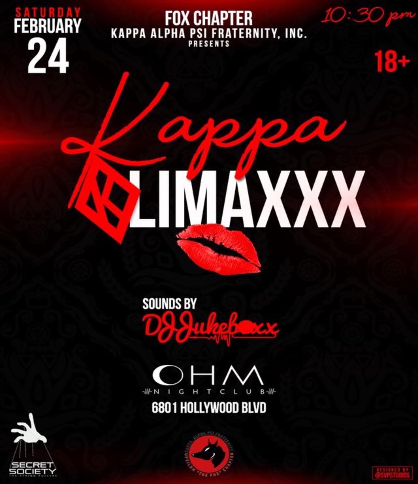 KAPPA KLIMAXXX - Tickets - Ohm Nightclub LAB, Los Angeles, CA