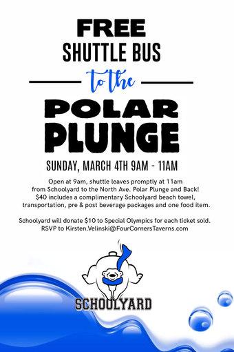 Schoolyard's Polar Plunge Party