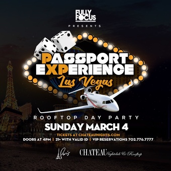 Passport Experience Las Vegas Rooftop Day Party