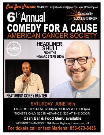Hainesport: 6th Annual American Cancer Society Fundraiser