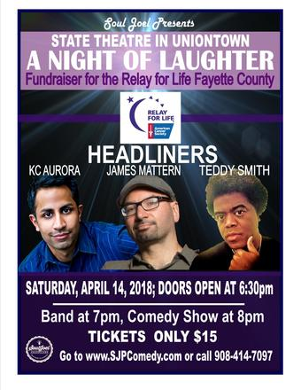 Uniontown: Relay for Life Comedy Fundraiser