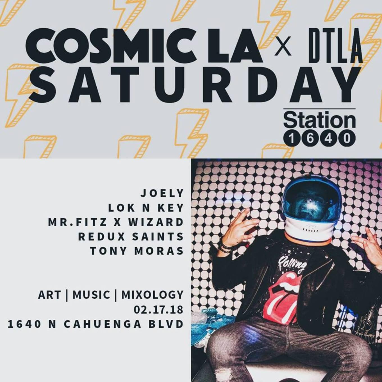 Cosmic La x Deep Tech Los Angeles Station 1640 | Saturday