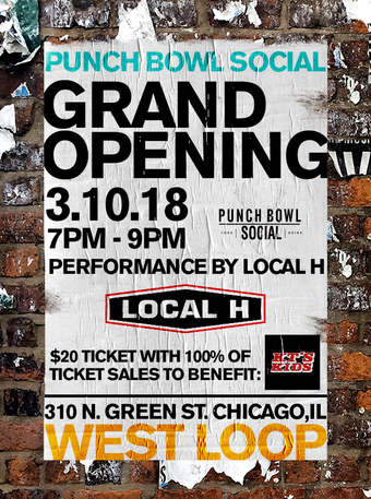 Punch Bowl Social Chicago West Loop Grand Opening