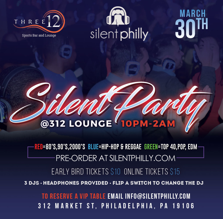 Three12 - Tickets - Three12, Philadelphia, PA - March 30, 2018