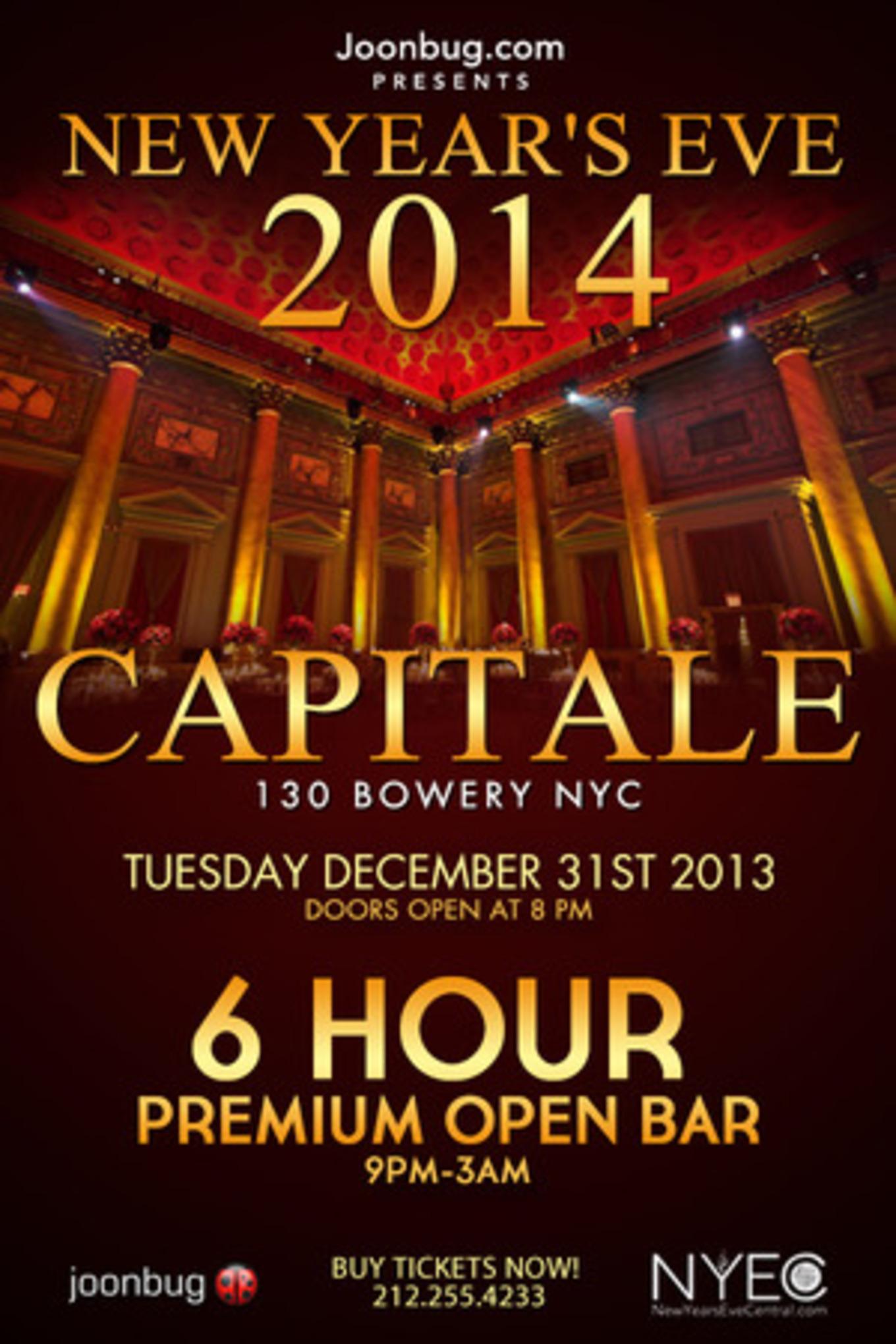 Capitale New Years Eve 2014