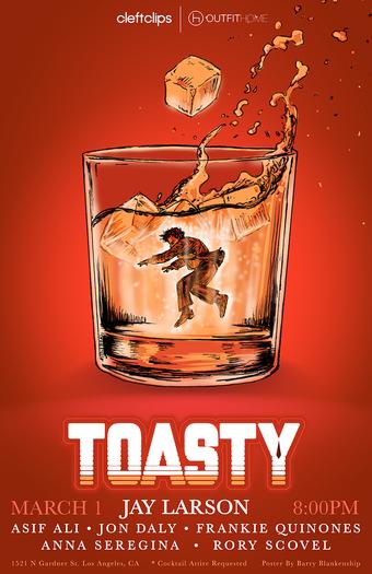 Toasty with Jay Larson