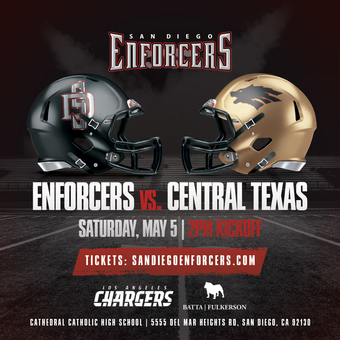 San Diego Enforcers vs. Central Texas