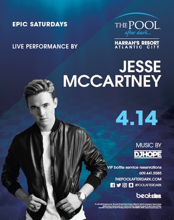 Epic Saturdays featuring Jesse McCartney