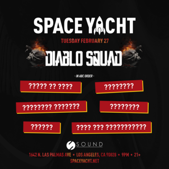 SPACE YACHT 2/27