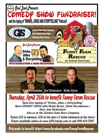 Galloway: Funny Farm Animal Rescue Comedy Fundraiser