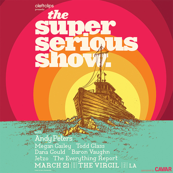 The Super Serious Show with Andy Peters