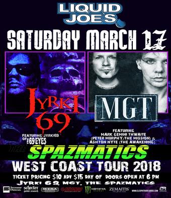 Jyrki 69 , MGT & Spazmatics