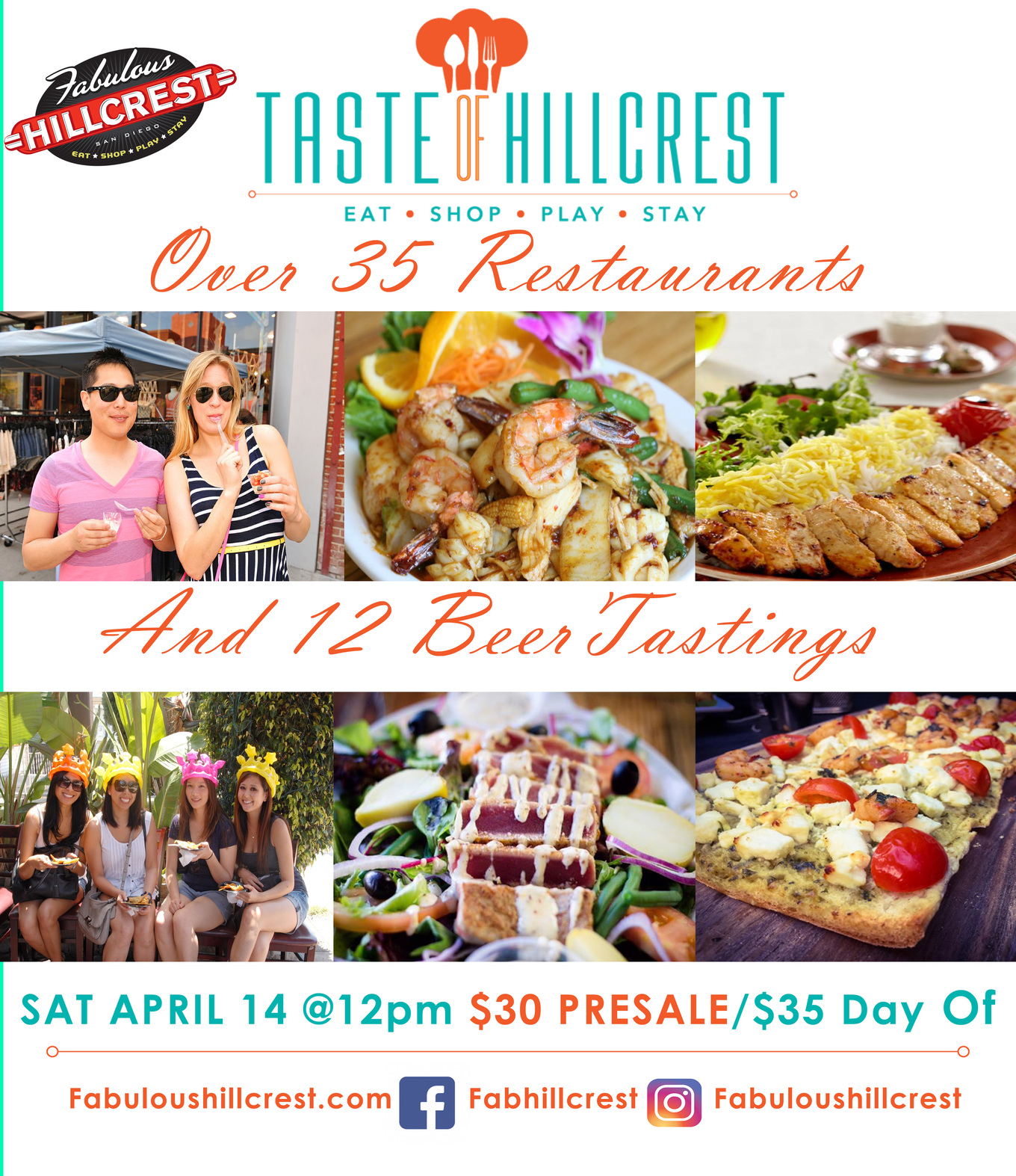 Taste Of Hillcrest 2018 Tickets Rite Aid Check In Station San