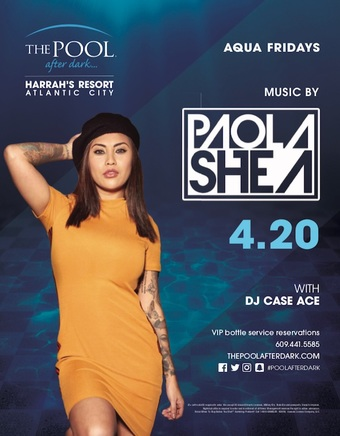 Aqua Fridays with Paola Shea