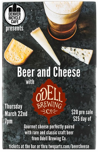 Beer and Cheese with Odell Brewing