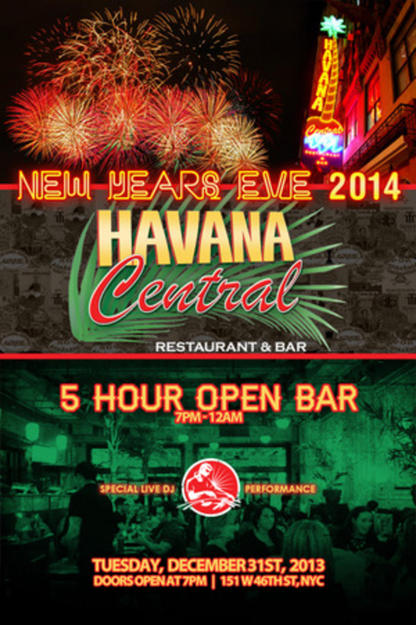 6670f5b6fd49 Havana Central New Years Eve 2014 - Havana Central