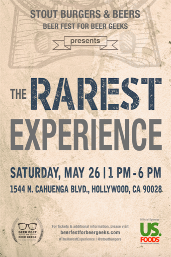 Beer Fest For Beer Geeks Presents: The Rarest Experience 2018