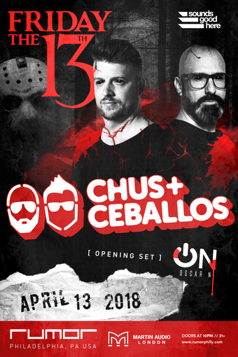 Friday the 13th w/ Chus + Ceballos