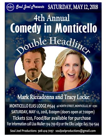 Monticello: 4th Annual Comedy Show Fundraiser