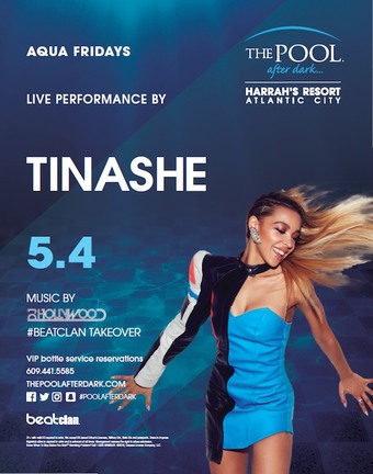 Aqua Fridays with Tinashe