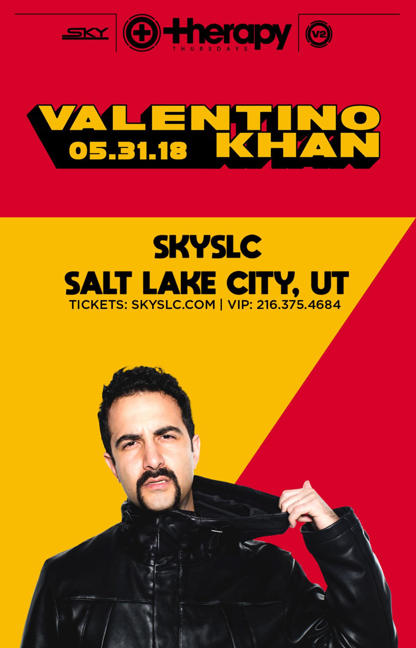 Therapy Thursdays : Valentino Khan - Tickets - Sky SLC, Salt