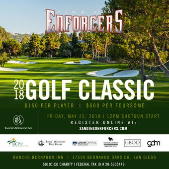 San Diego Enforcers 2018 Golf Classic