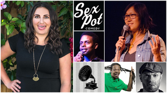 Sexpot Comedy Presents Steph Tolev w/ Hinds, Stanley, Black & Rush