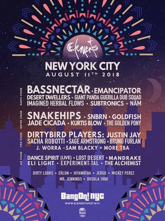ELEMENTS NYC Music & Art Festival 2018