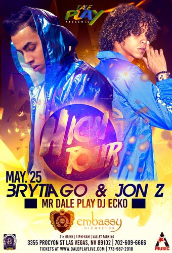High Tour 'Brytiago & Jon Z' Las Vegas