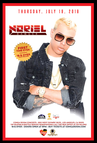 Conga Room presents Noriel