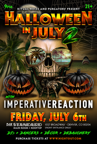 Halloween In July with Imperative Reaction