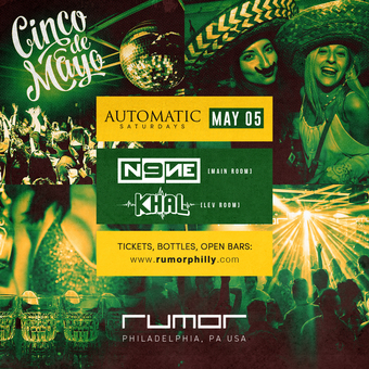 Automatic Saturdays w. DJ N9NE & Khal