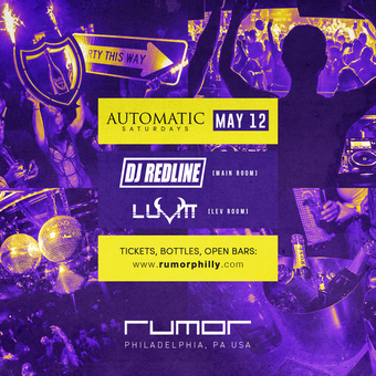 Automatic Saturdays w. DJ Redline & LuVitt