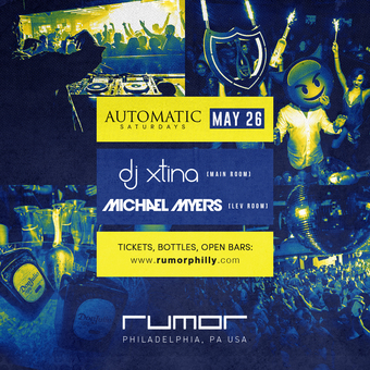 Automatic Saturdays w. DJ Xtina & Mike Meyers