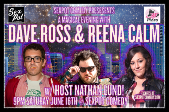 A Magical Evening w/ Dave Ross and Reena Calm w/ Nathan Lund