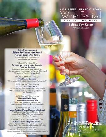 15th Annual Newport Beach Wine Festival