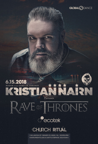 Rave of Thrones: Kristian Nairn