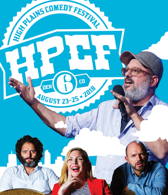 6th Annual High Plains Comedy Festival -  Festival Pass