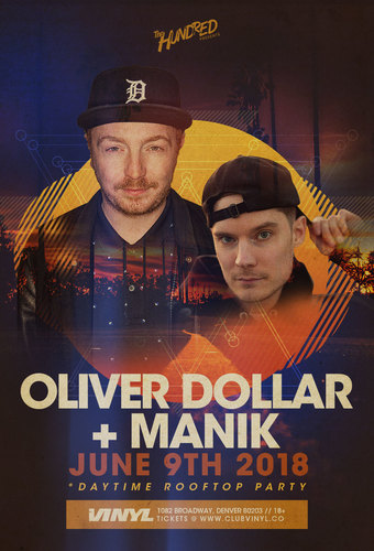 Oliver Dollar + MANIK Rooftop Party