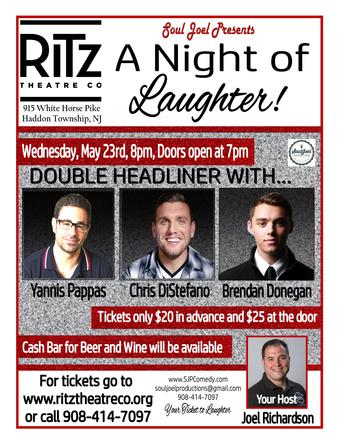 Double Headliner at Ritz Theatre