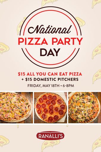 National Pizza Day Party!