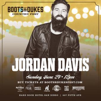 Boots & Dukes Country Fest w/ Jordan Davis