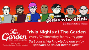 Wednesday Trivia Nights at The Garden