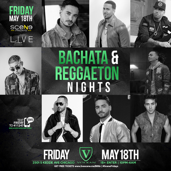 Bachata & Reggaeton Nights (18+)